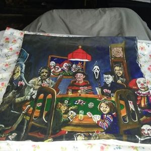 Horror villains pillowcase